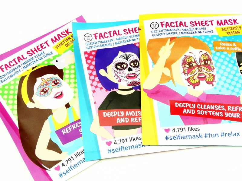DSC09974 1 InPixio - 3X ACTION SELFIE SHEET MASK