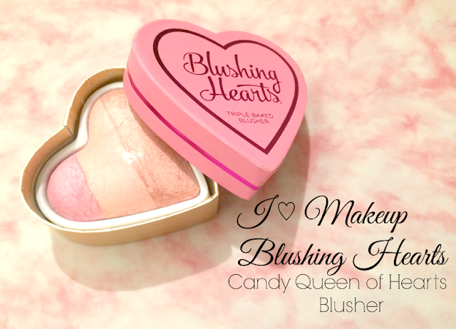 I HEART MAKEUP BLUSHING HEARTS – CANDY QUEEN OF HEARTS BLUSHER