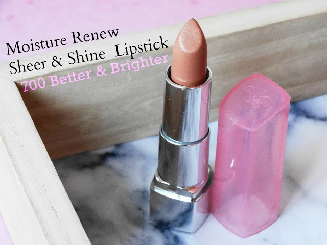 d59fd dsc029742b252812529 - Moisture Renew Sheer & Shine Lipstick 700 Better & Brighter