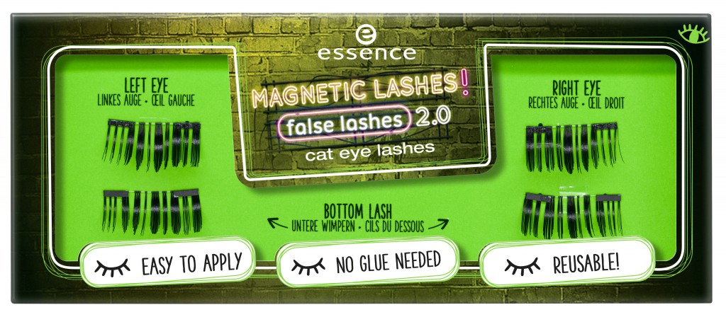 453006 cat eye lashes Image Front View Closed - PREVIEW│ESSENCE MAGNETIC LASHES! FLASE LASHES 2.0