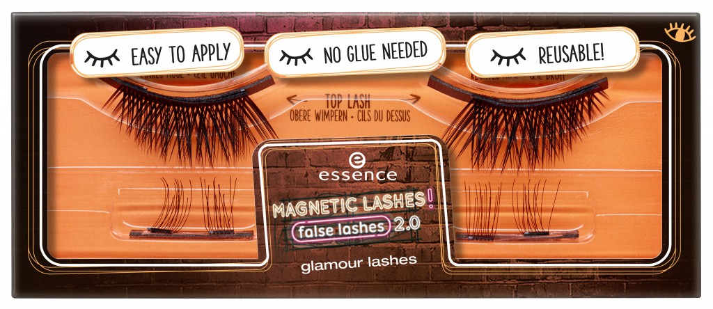 453017 glamour lashes Image Front View Closed - PREVIEW│ESSENCE MAGNETIC LASHES! FLASE LASHES 2.0