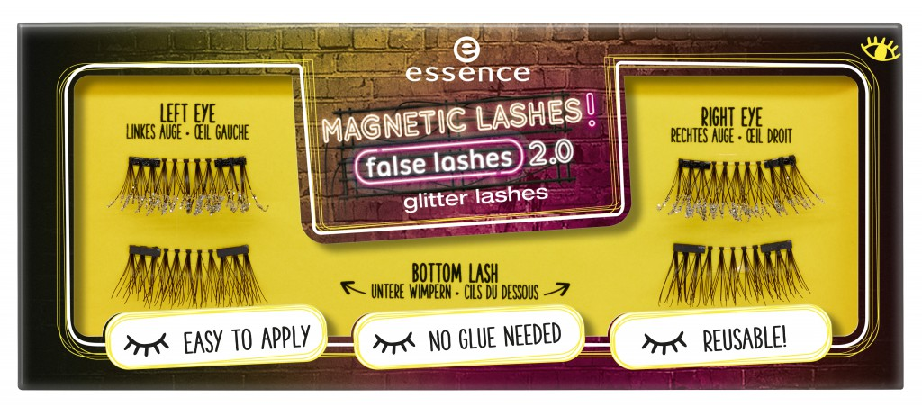 453114 glitter lashes Image Front View Closed - PREVIEW│ESSENCE MAGNETIC LASHES! FLASE LASHES 2.0