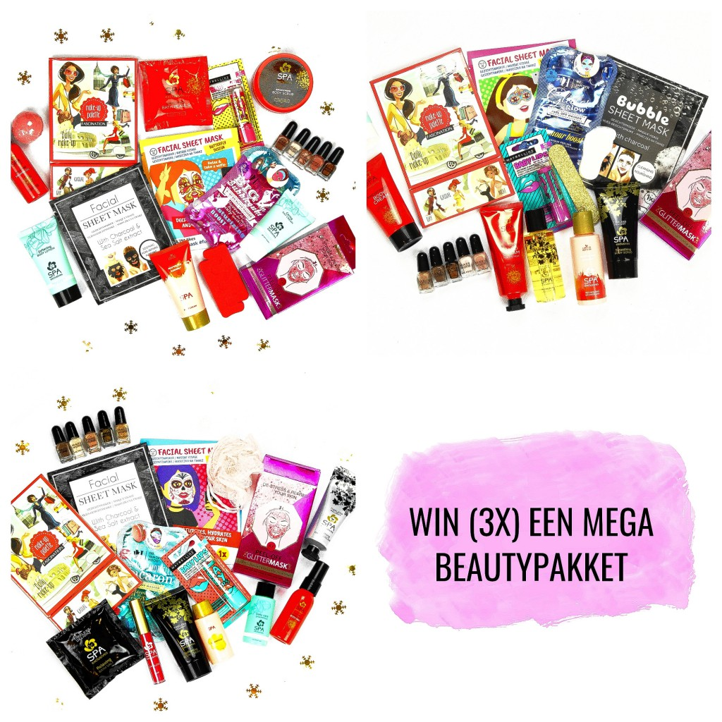 Untitled collage edited - GIVEAWAY TIME! WIN (3X) EEN MEGA BEAUTYPAKKET (gesloten)
