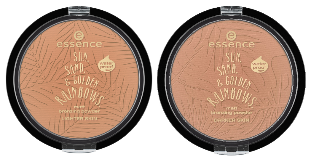 Essence matt bronzing powder waterproof trend edition sun sand & golden rainbows