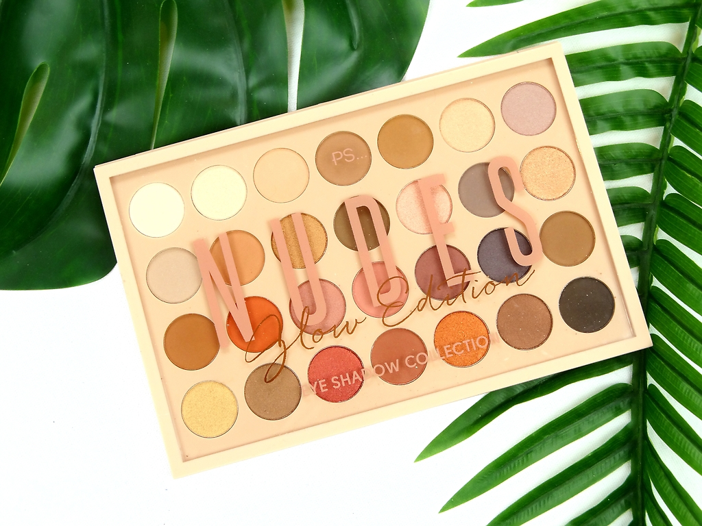 PRIMARK PS. 'NUDES'GLOW EDITION EYESHADOW COLLECTION PALETTE