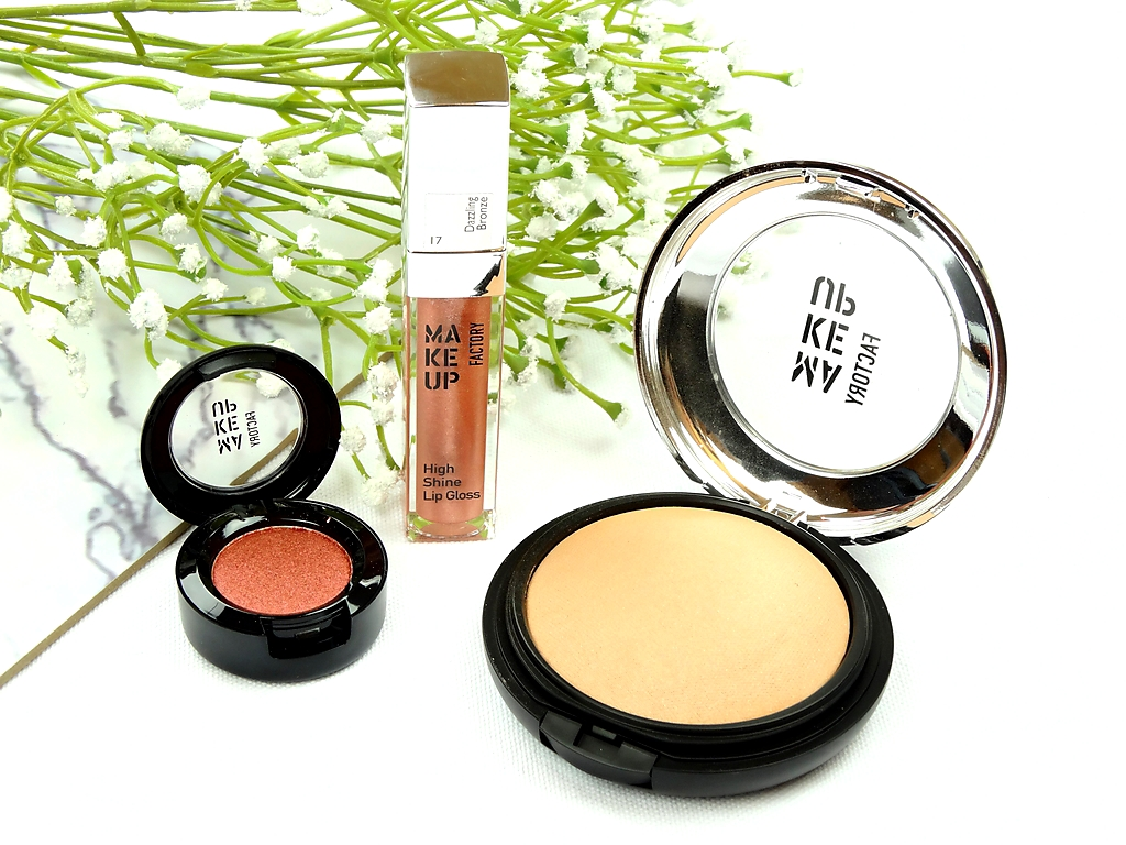 MAKE UP FACTORY: SUMMER GLOW BRONZING COLLECTION