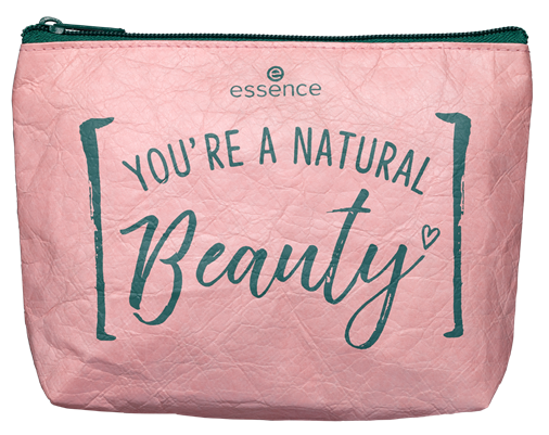 Natural beauty make up bag - PREVIEW │ ESSENCE HERFST / WINTER UPDATE 2019