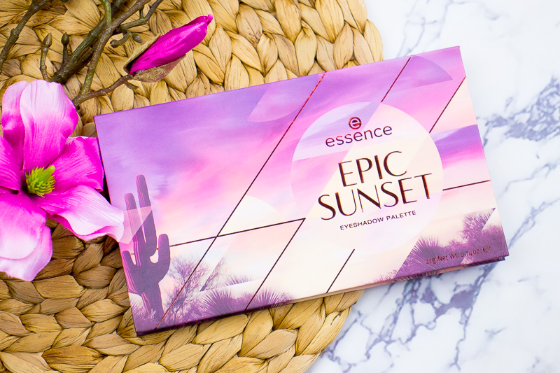 ESSENCE EPIC SUNSET EYESHADOW PALETTE