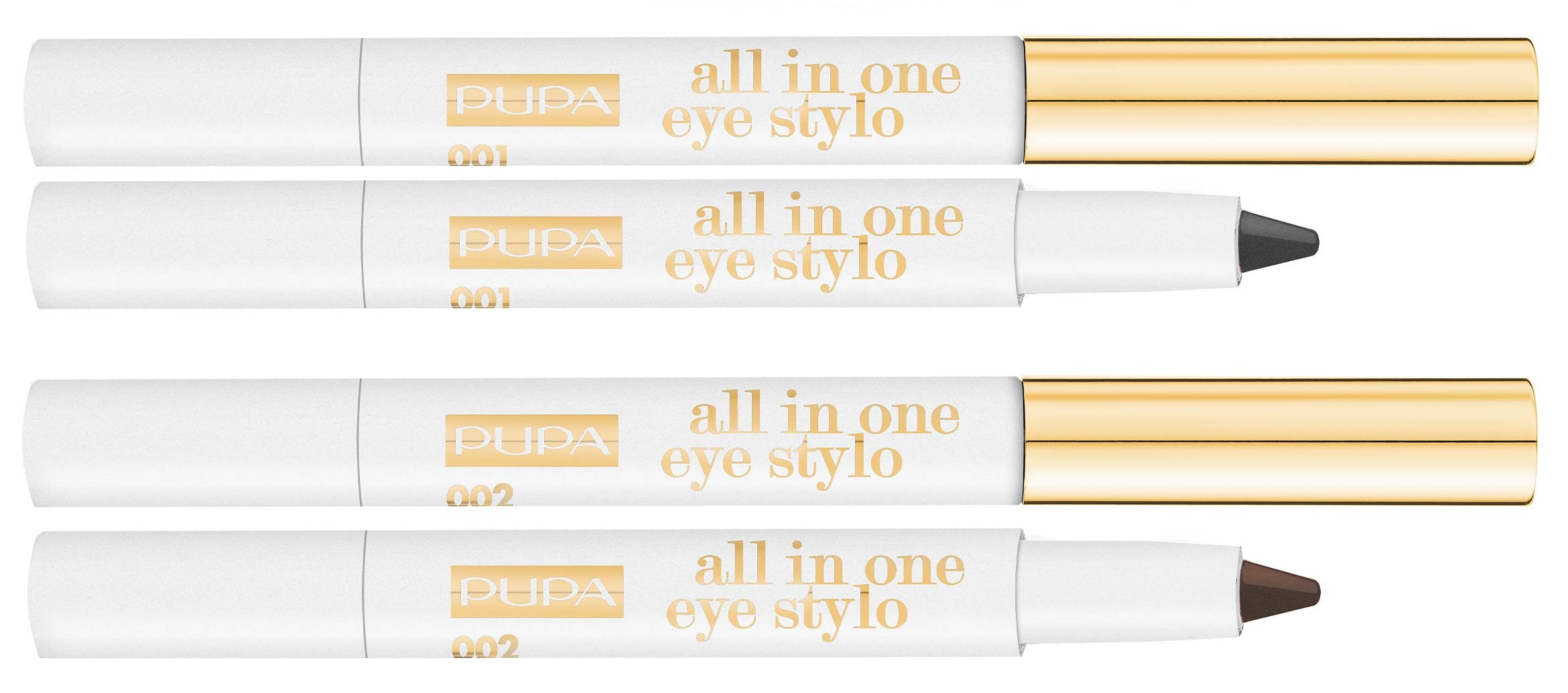 pupa all in one eye stylo - PREVIEW │ PUPA GOLD ME CHRISTMAS COLLECTION
