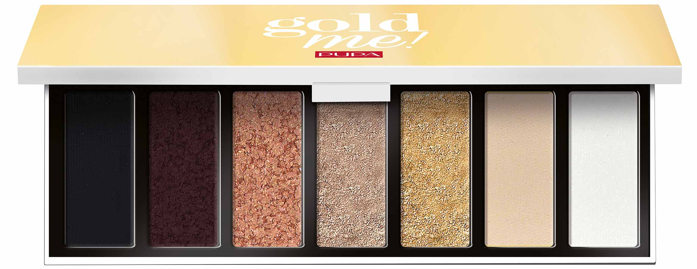 pupa gold me eyeshadow palette - PREVIEW │ PUPA GOLD ME CHRISTMAS COLLECTION