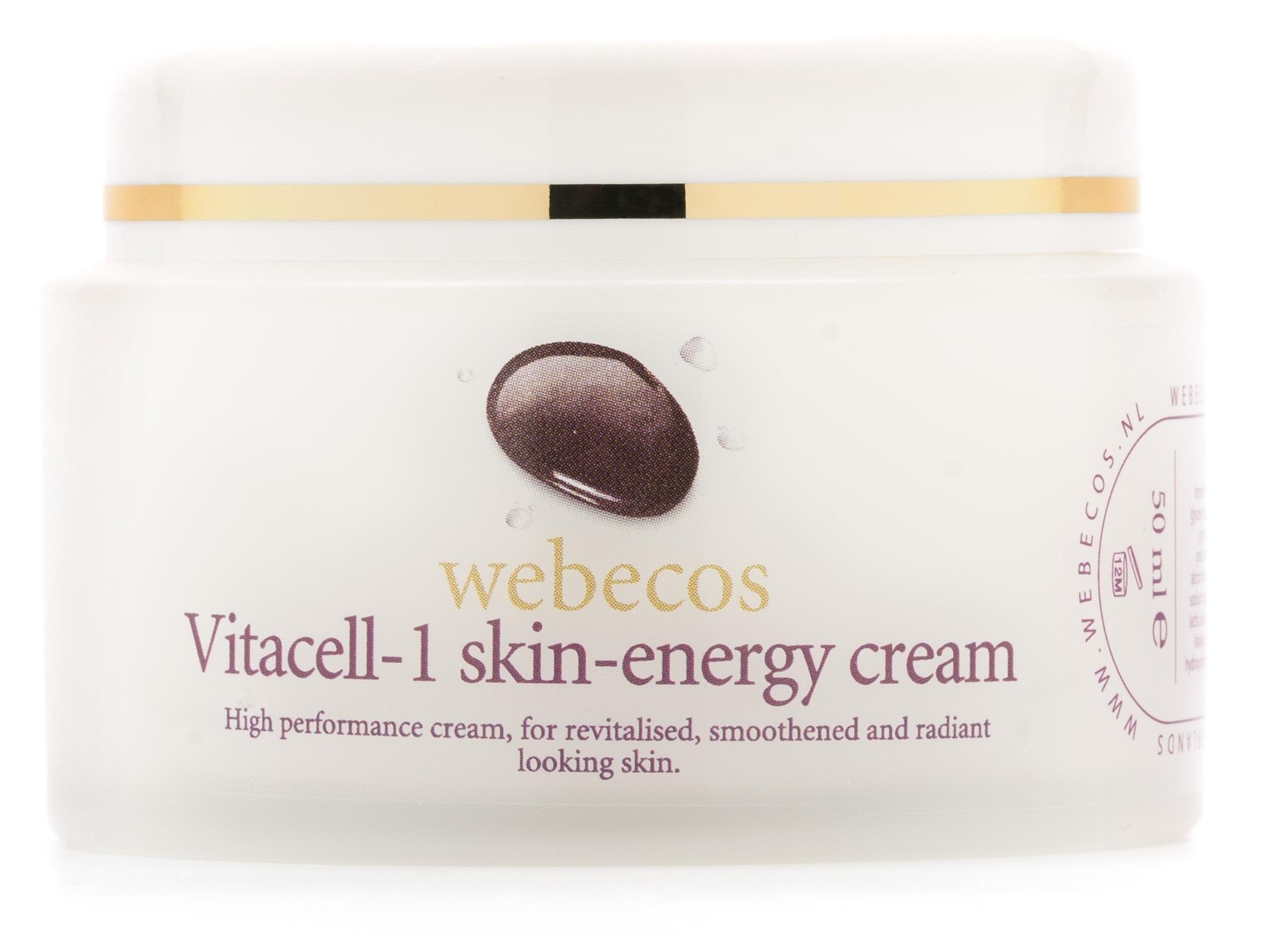Webecos Vitacell Skin Energy Cream kopie - STRALENDE EN MOOIE HUID MET VITACELL RADIANCE