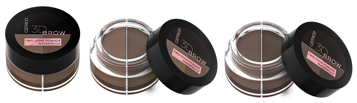 3D BROW TWO TONE POMADE WATERPROOF - CATRICE ASSORTIMENTSUPDATE LENTE/ ZOMER 2020