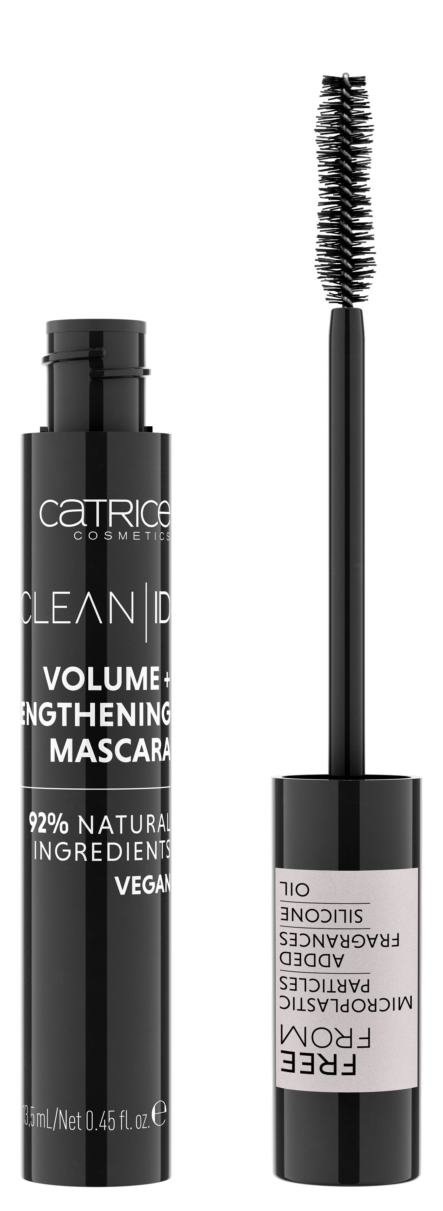 4059729246257 Catrice Clean ID Volume Lengthening Mascara 010 Image Front View Full Open png - CATRICE ASSORTIMENTSUPDATE LENTE/ ZOMER 2020