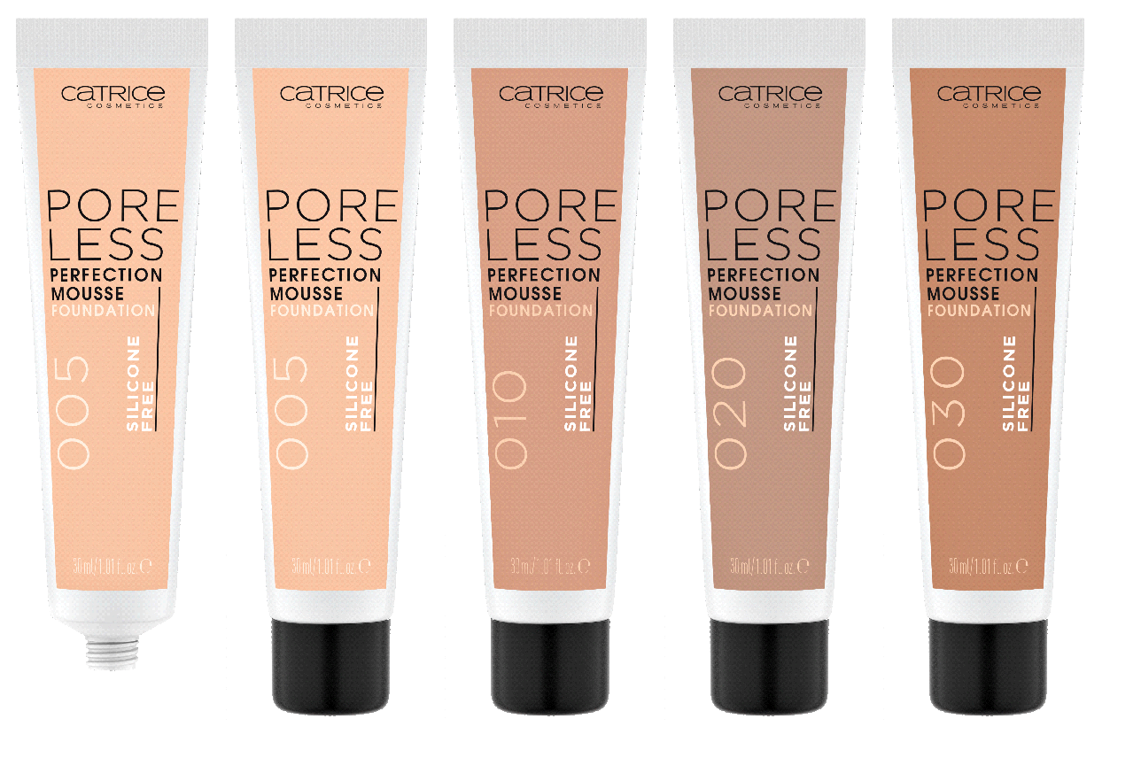 PORELESS PERFECTION MOUSSE FOUNDATION - CATRICE ASSORTIMENTSUPDATE LENTE/ ZOMER 2020